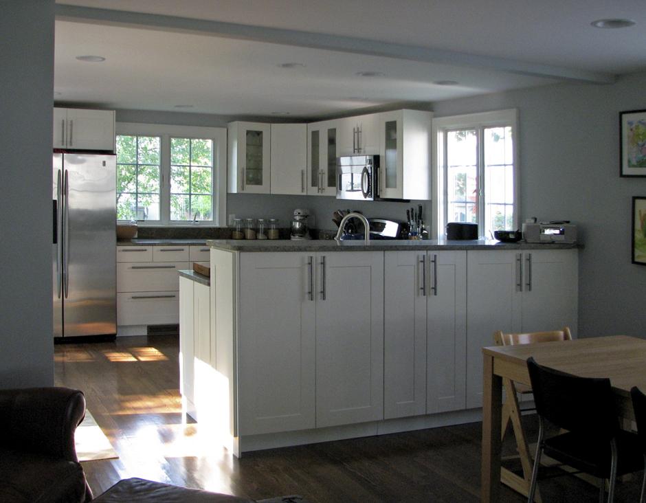 Kitchen-Dining view